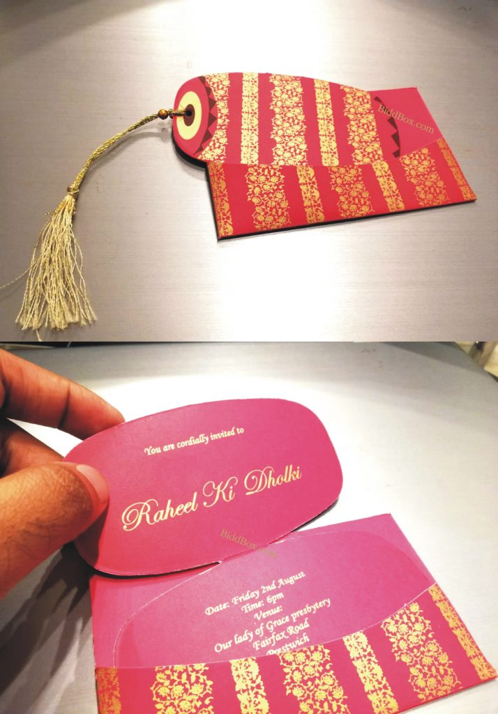 Dholki Card , Dholki Invitation Card